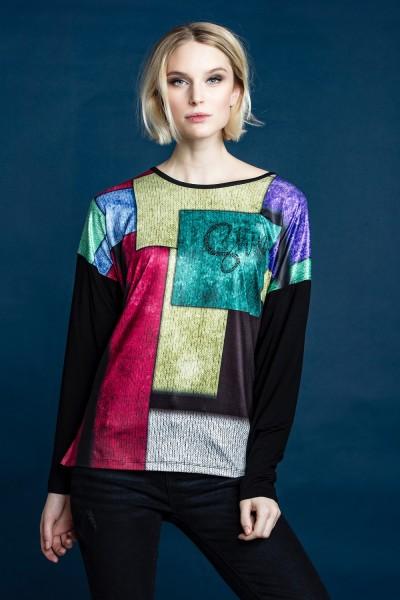 Estefania for woman, Shirt in Multicolor