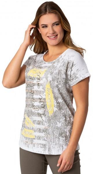 Gio Milano, leichtes Shirt in Crinkeloptik