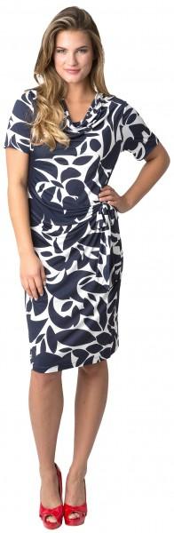 Estefania for woman, Kleid mit asymmetrischen Druck