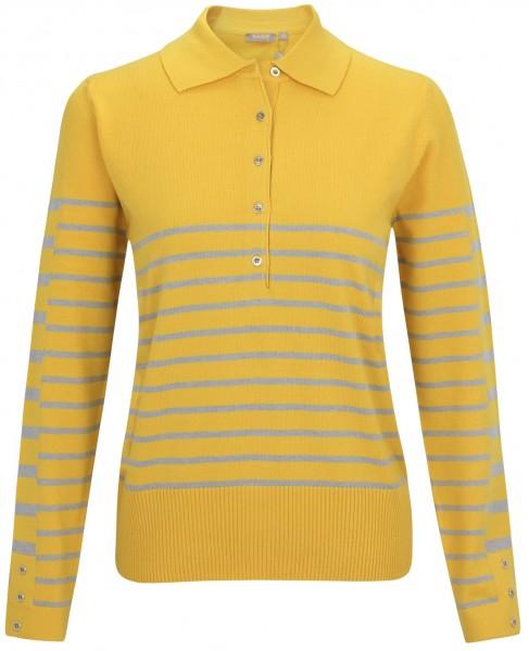 Rabe, Poloshirt mit klassischer Knopfleiste