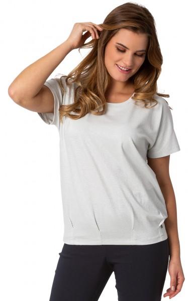 Gio Milano, Elastisches Shirt mit Lurex