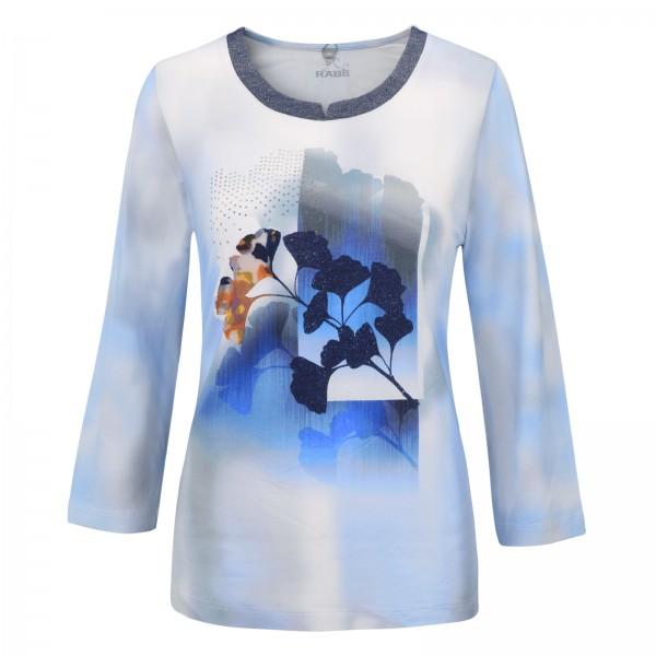 Rabe 3/4-Arm-Shirt mit Glitzer-Kragen
