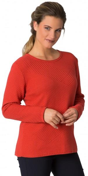 Rabe, eleganter Pullover im Strukturstrick