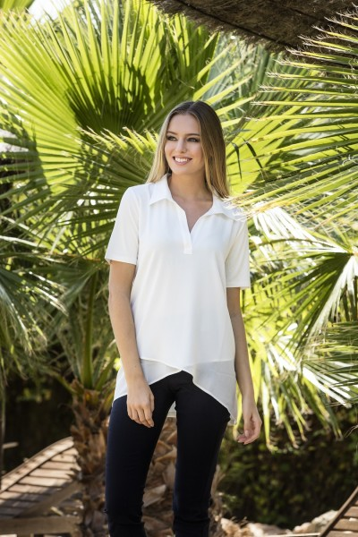 Estefania for woman Long Poloshirt