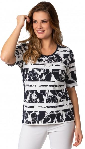 Rabe, Shirt mit seitlichen Streifen
