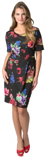 Estefania for woman, Kleid im floralen Druck