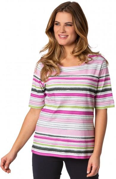 Rabe, sommerliches Shirt in Streifen-Optik