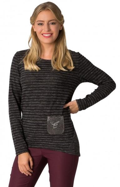 Estefania for woman, leichter Pullover mit Tasche