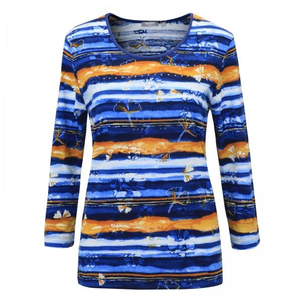 Rabe Rundhals-Shirt im frischen Druck Design