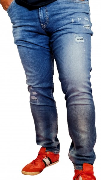 MAC Herren-Jeans, Arne Pipe, Drivers Jeans, kernige authentische 5-Pocket Jeans