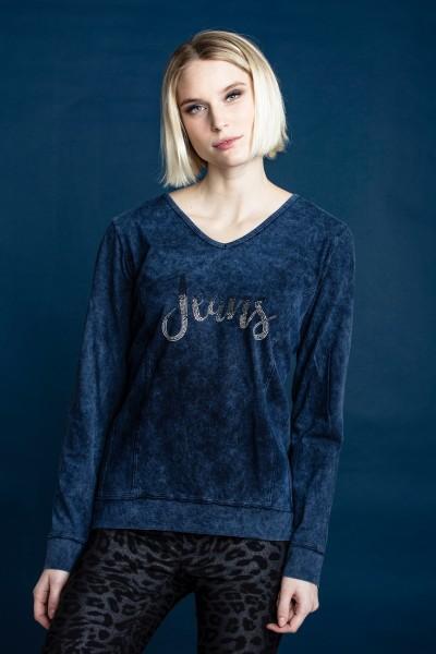 Estefania for woman, Shirt mit Wash-Out-Effect