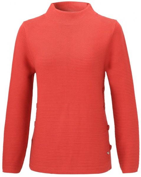Rabe Pullover mit modischem Stehkragen
