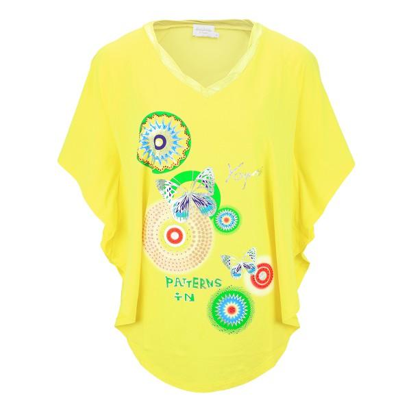 Estefania for woman Shirt im Poncho-Stil
