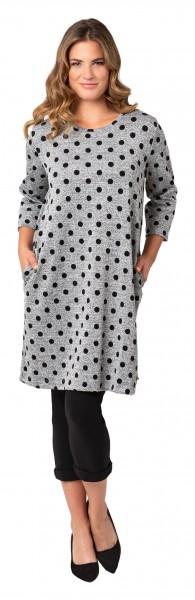 Gio Milano, Tupfen Kleid mit Taschen