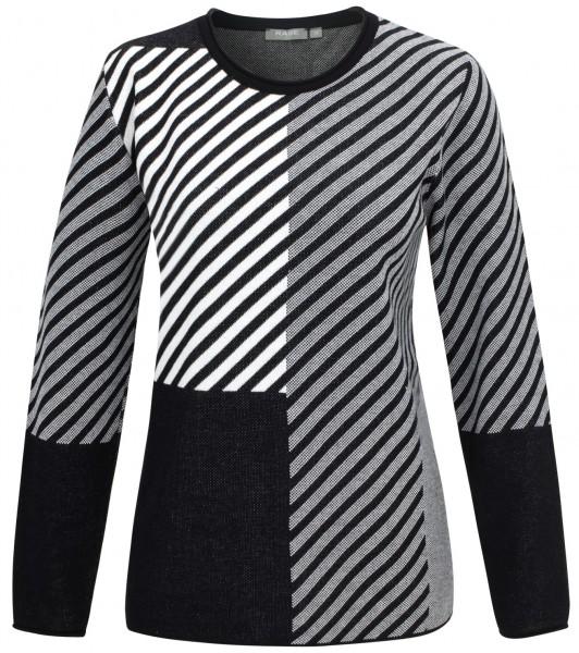 Rabe, Pullover mit asymmetrischen Muster