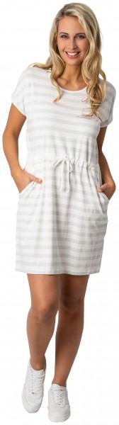 Estefania for woman, sportliches Streifen Kleid mit Tunnelzug