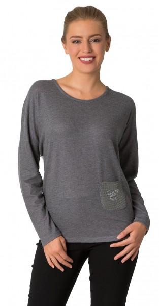 Estefania for woman, elegantes Oversize Shirt