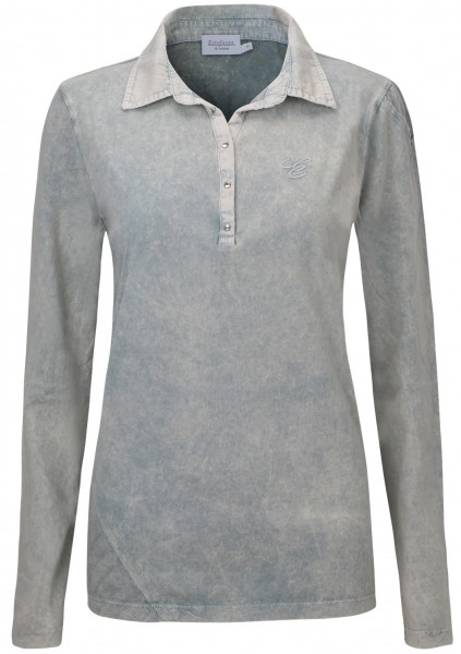 Estefania for woman, Poloshirt mit Wash-Out-Effect
