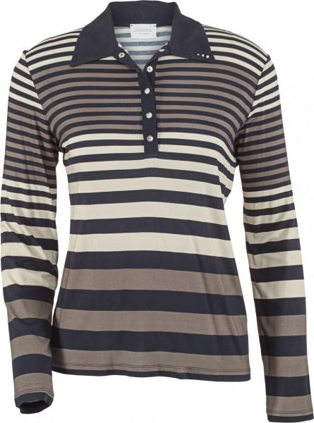 Estefania for woman Polo Shirt in Streifenoptik,141-4200,