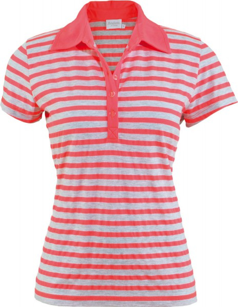 Estefania for woman,sportliches Polo Shirt in Ringeloptik,