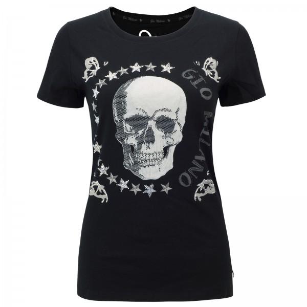 Gio Milano Shirt mit Totenkopf