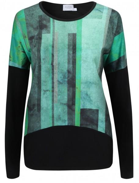 Estefania for woman, Shirt mit Muster und Steinchen