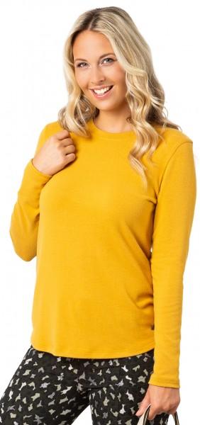 Gio Milano, Basic Pullover mit ovalem Ausschnitt