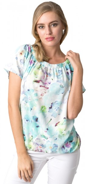 Estefania for woman, Shirt im floralen Design