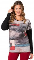 Estefania for woman, weicher Pullover in Strickoptik