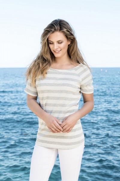 Estefania for woman, Streifenshirt