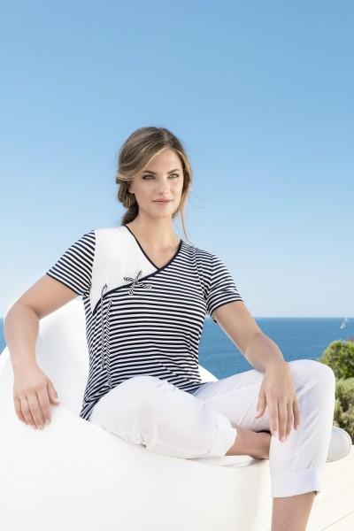Estefania for woman Shirt mit seitlicher Kordel