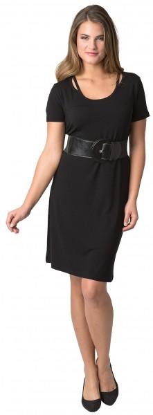 Estefania for woman, Kleid mit raffiniertem Ausschnitt