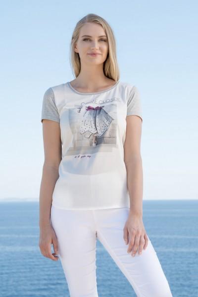 Gio Milano, Shirt mit angesagten Druck