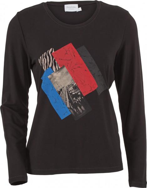 Shirt Rundhals mit stylischem Print