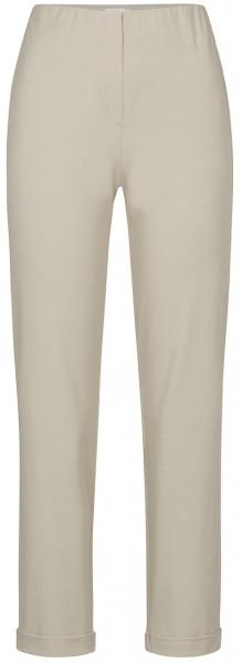 Stehmann-Sylvia-682, Hose mit Aufschlag in High-Tec-Cotton Qualitaet