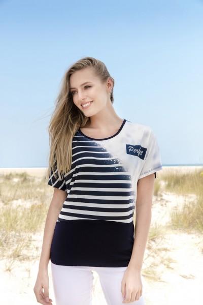 Estefania for woman, Shirt mit Streifendruck