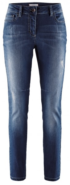 Stehmann-Anna-748W Jeans im destroyed Look