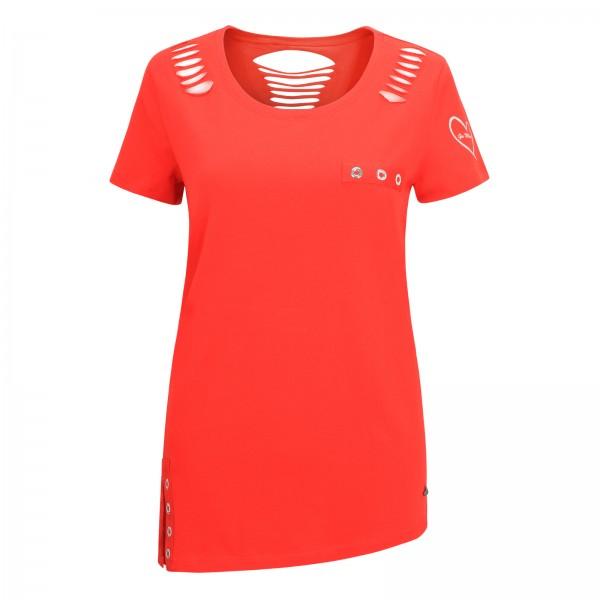 Gio Milano, asymmetrisch geschnittenes Shirt