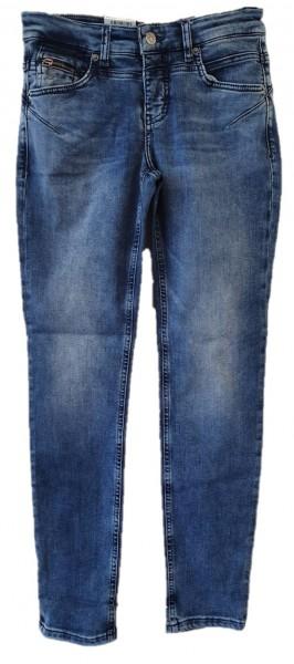 MAC schmale Jeans Rich Slim, Light authentic Denim