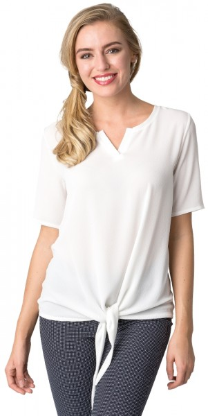 Estefania for woman Blusenshirt zum binden