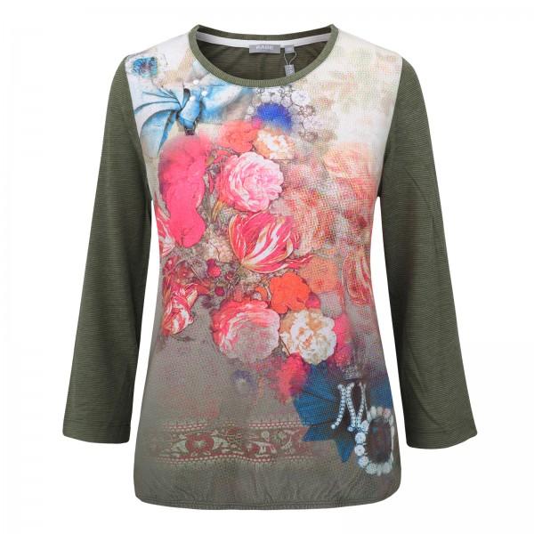 Rabe 3/4-Arm-Shirt mit romantischem Blumendruck