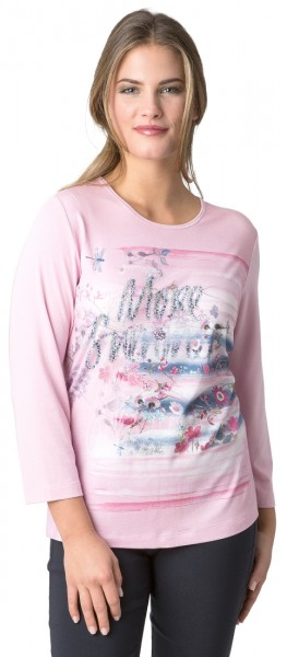 Rabe 3/4 Arm Shirt mit floralem Print und Accessoires
