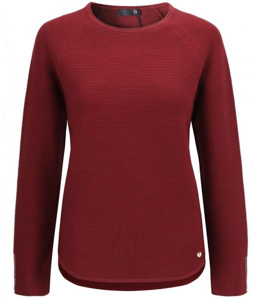 Rabe Pullover hinten laenger geschnitten