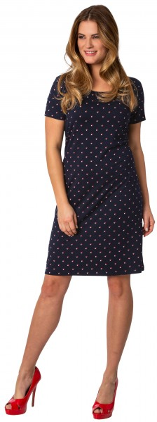 Estefania for woman, Kleid im Minimalprint
