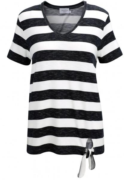 Estefania for woman, Shirt mit Blockstreifen, seitlich zum Binden