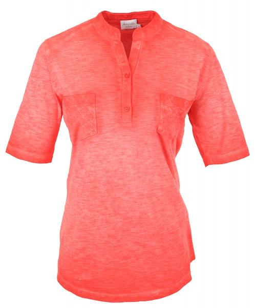 Estefania for woman,angesagtes Long-Shirt mit wash-out Effect,144-8117