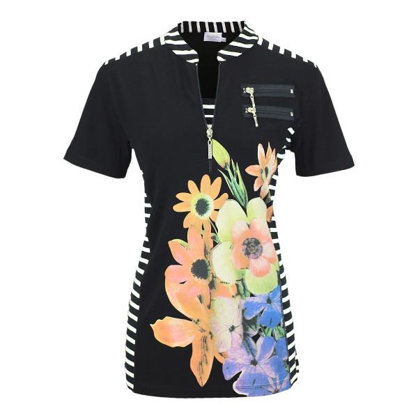 Estefania for woman Shirt mit Reissverschluss