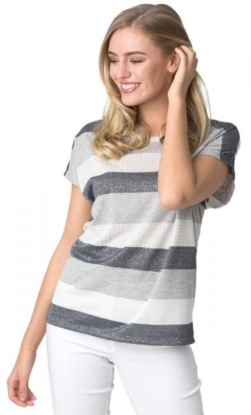 Estefania for woman Shirt mit Blockstreifen
