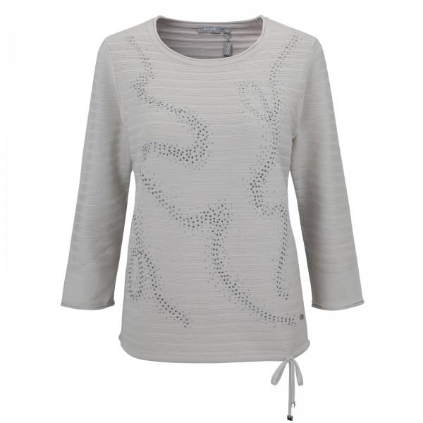 Rabe Pullover mit Kordelzug und Strasssteinchen