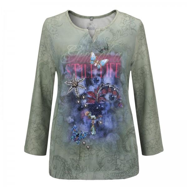 Rabe Shirt im Floralen Motivdruck